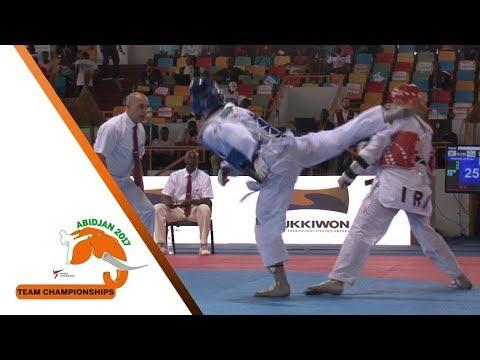 [Semi-Final] Male Team   Korea vs. Iran   2017 World Taekwondo Team Championships