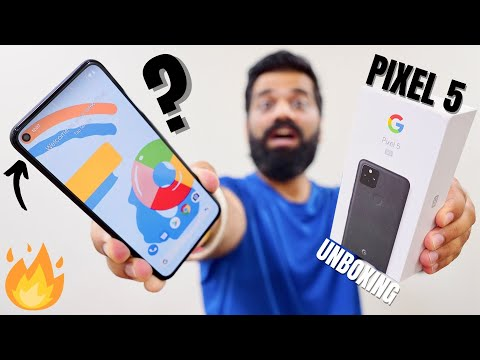 Google Pixel 5 Unboxing & First Look - The Best Android Phone By Google
