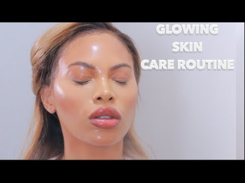 SUMMER GLOWING SKIN CARE ROUTINE | MSROSHPOSH