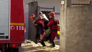 Alluvione di Olbia 2013: il lavoro dei VVF
