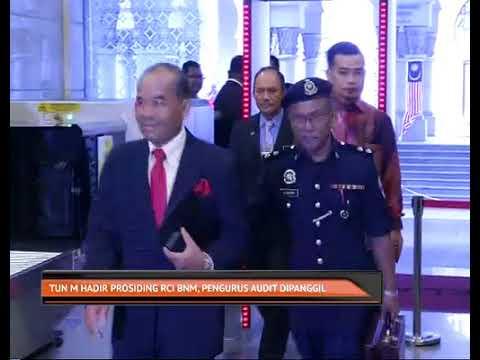 Tun Mahathir hadir prosiding RCI BNM, pengurus audit dipanggil