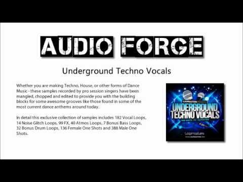 ★ Underground Techno Vocals - 600mb+ Samples