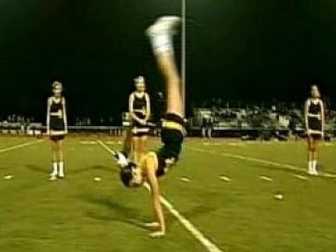 Cheerleader Sets Back Handspring Record, UTEP Cheerleader Beats It