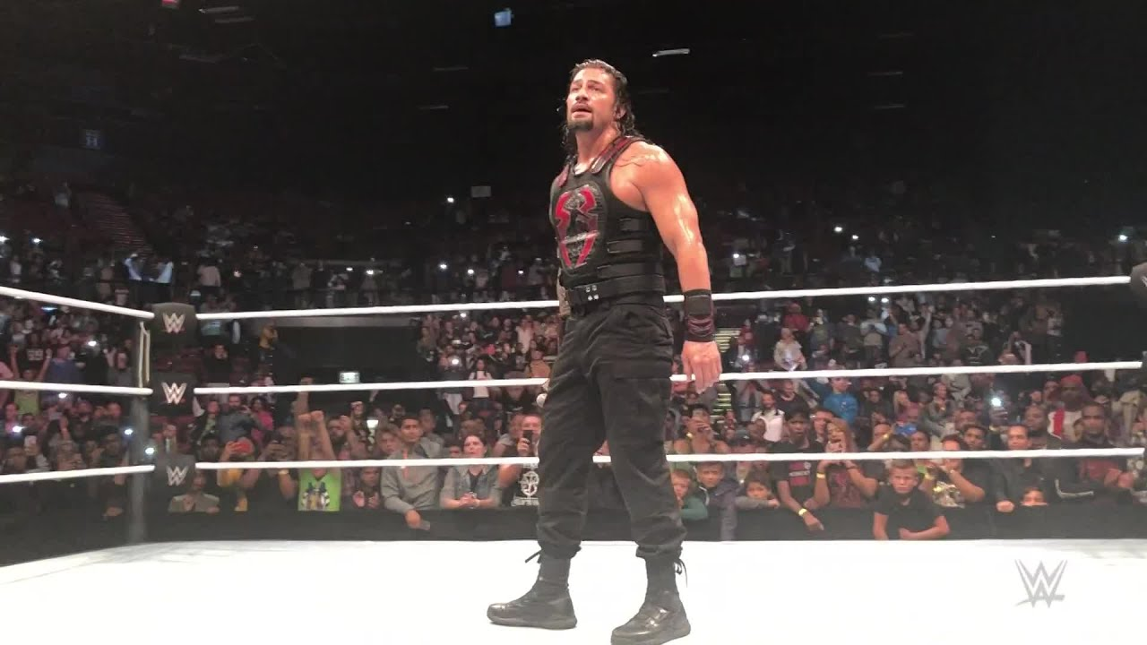 "Roman Reigns says ""Thank you"" to Cape Town"