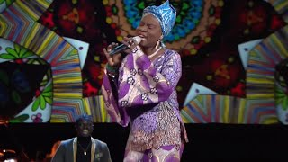 Angelique Kidjo sing Afirika at the 62nd Grammy Ceremony on January 26th 2020