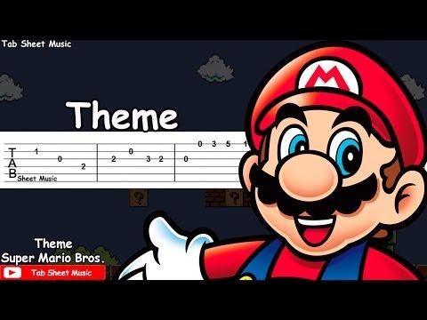 Super Mario Bros. - Theme Guitar Tutorial