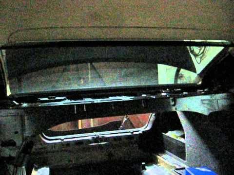Electric Rear Roller Blind Vw Passat B6 Youtube