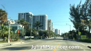 Drive through Pompano Beach Florida
