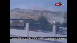SONA: Aktuwal na pagguho ng lupa sa Naga City, Cebu, nakunan sa CCTV