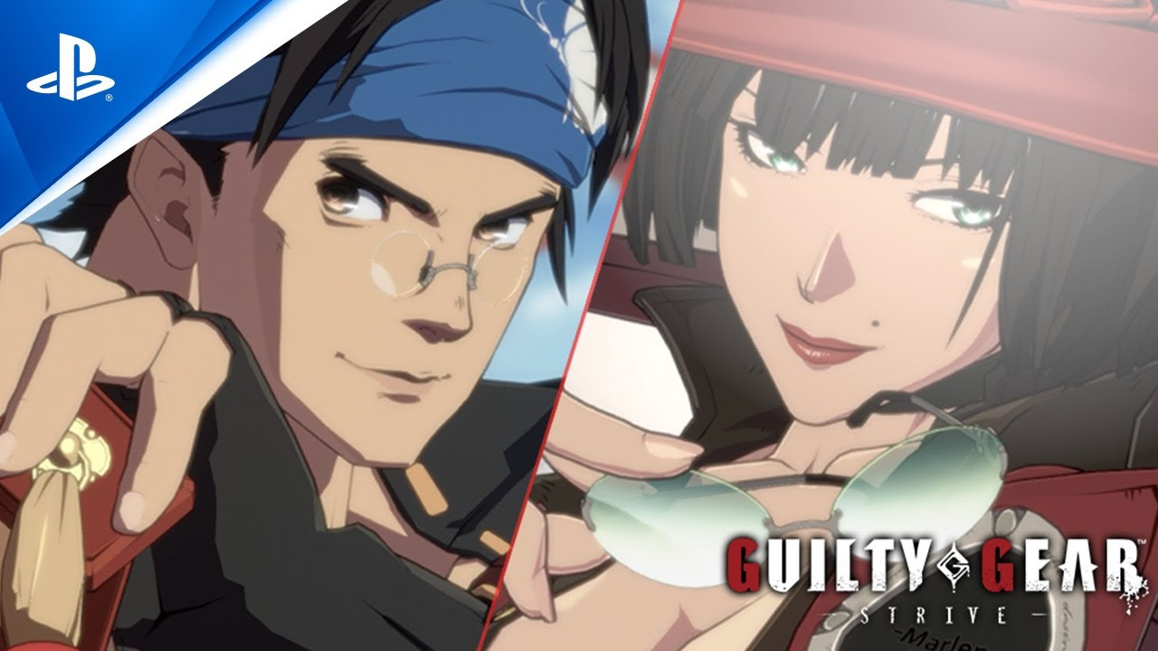 Guilty Gear -Strive- - Anji Mito and I-no Gameplay Trailer