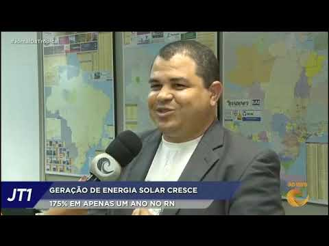 Entrevista TV Tropical (28.10.2019) - Energia solar cresce 175% no Rio Grande do Norte