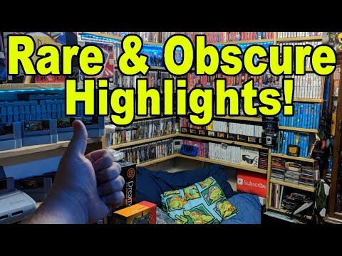 Rare, Obscure or Just Plain EXPENSIVE Items In My Game room!