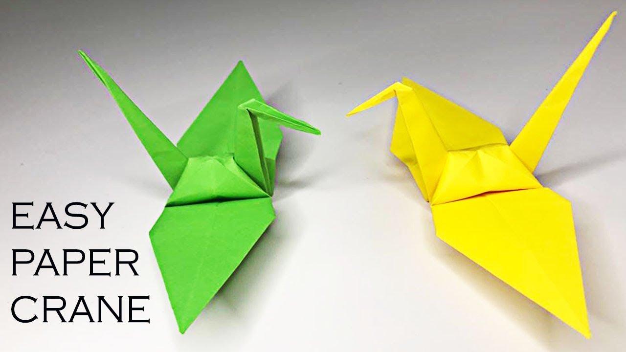 Origami Burung Crane | Mudah dibuat dan Simple | Tutorial
