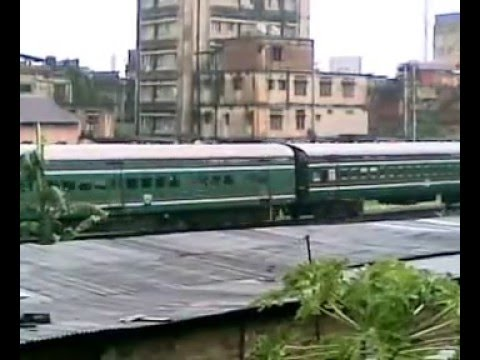 Army Convoy on train passing near my home at Guwahati.