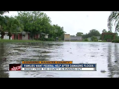 FEMA not expected to offer assistance to Manatee flood victims