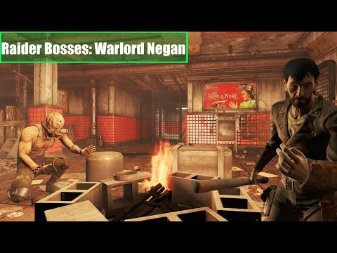 Fallout 4 Quest Mods: Raider Bosses WarLord Negan