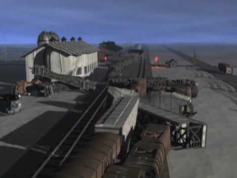 Weyauwega WI Train Wrecks on Video