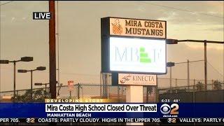 Mira Costa High School Closed Tuesday Due To Social Media Threats