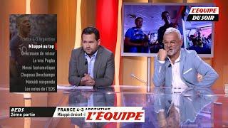 Mbappé au top - Foot - CM 2018 - Bleus