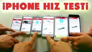 Hız Testi:  Hangi iPhone Daha Hızlı?