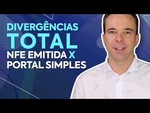 Divergências entre o Total de NFe Emitida e o valor declarado no Portal do Simples