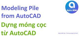 Q'Apps - Erstellen Sie Pfähle Grundlagen von AutoCAD-Link