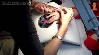 Наращивание ногтей гелем уроки дизайна ногтей