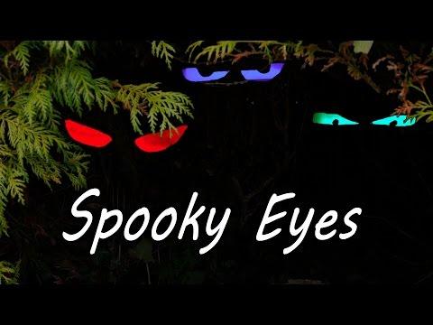 How To Make Spooky Halloween Eyes Youtube