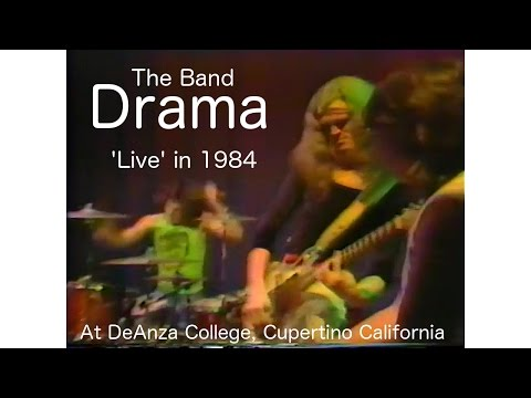 """""""Drama"""" (the band), Live in 1984 at DeAnza College"""