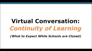 MCPS Continuity of Learning