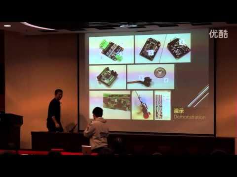 Self-balancing vehicle: Dawei Wang at TEDxTHU