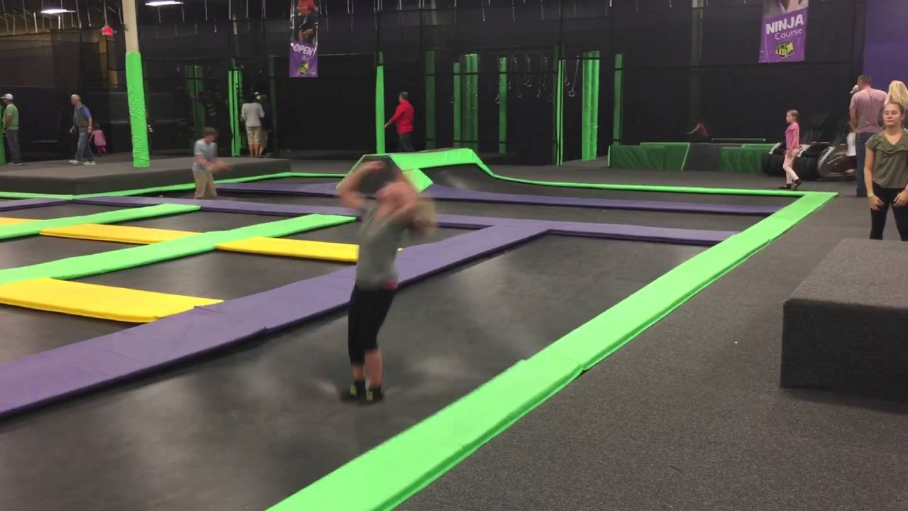 mia at get air billings trampoline park youtube. Black Bedroom Furniture Sets. Home Design Ideas