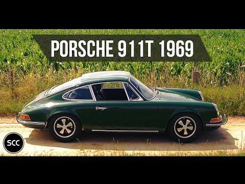 PORSCHE 911T / 911 T 1969 - Test drive in top gear - Engine sound | SCC TV