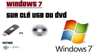 FREE WINDOWS 7 [FR] Installation USB !