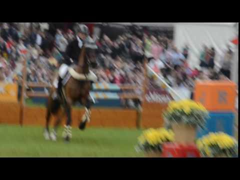Sam Ecroyd on Wodan Bramham horse trials showjumping