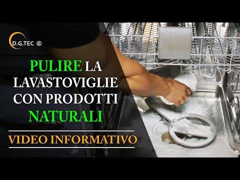 come pulire la lavastoviglie con prodotti naturali. - youtube