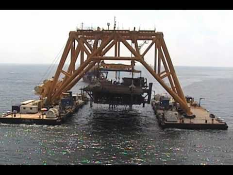 Oil Spill Solution - Subsea Barge Storage