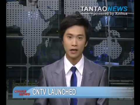 Online TV Station CNTV Launched In China