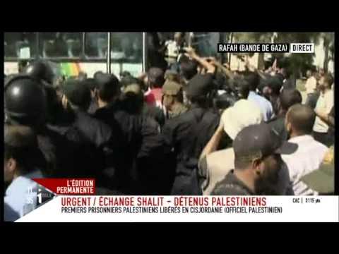 Les Prisonniers Palestiniens Libérés Arrivent à Ramallah - Le Figaro
