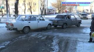 Оператор Карталинского ТВ снял ДТП