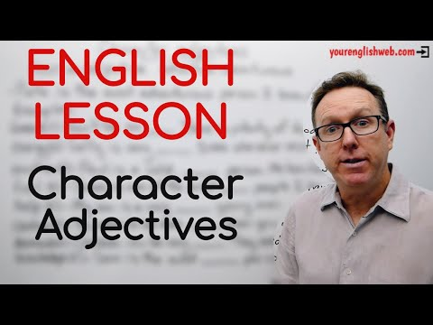 english-lesson-b2---character-adjectives-from-nouns---gramática-inglesa