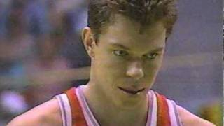 1988 Olympics Basketball USA v. USSR (part 1 of 7)