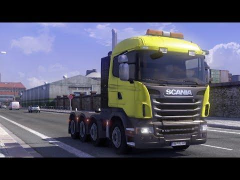 euro truck simulator 2 modvorstellung scania upgrade. Black Bedroom Furniture Sets. Home Design Ideas