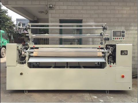 Computer Controlled Fabric Pleating Machine