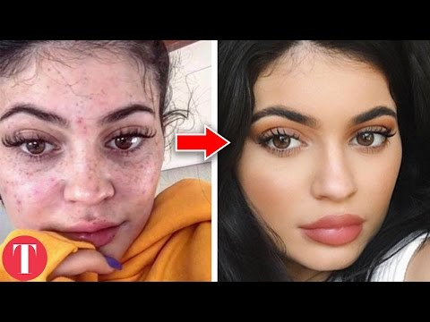 10 Celebs Who Are Unrecognizable Without Makeup