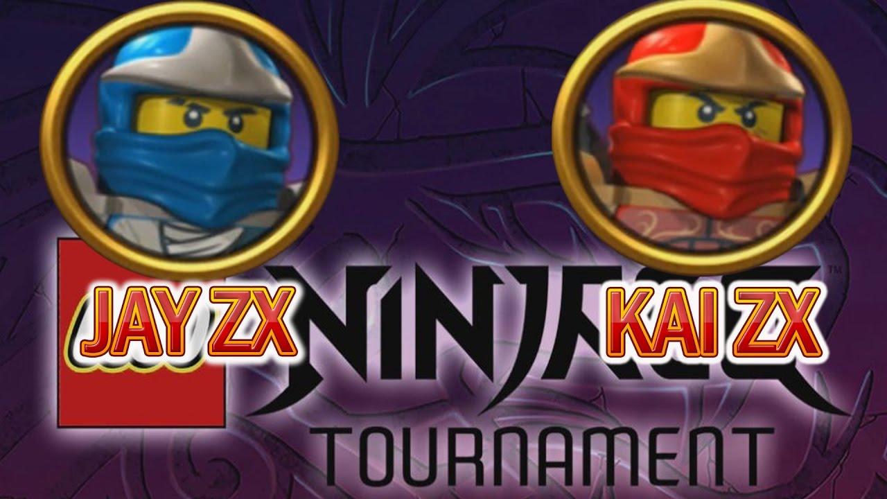 LEGO Ninjago Tournament - KAI ZX and JAY ZX gameplay character (ios, android)