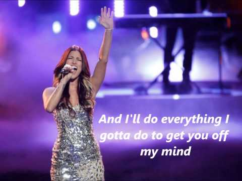 Cassadee Pope Wasting All these Tears with Lyrics