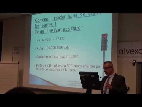 Alvexo - Conférence de Pascal TRICHET: Présentation générale du FOREX et Money Management spécifique