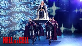Charlotte Flair makes an epic entrance at Boston's TD Garden: WWE Hell in a Cell 2016