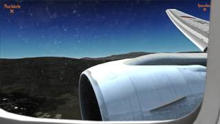 Realistic FSX Movie, Japan Airlines Boeing 777 flight from Narita Tokyo to Mexico City